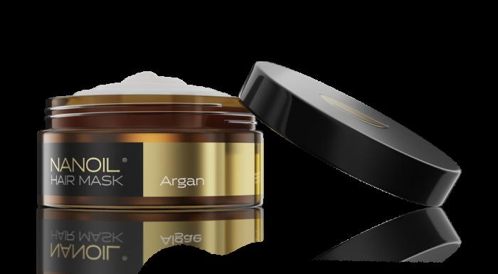 Arganowa maska do włosów Nanoil