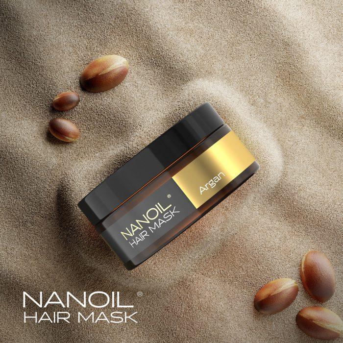 Maska do włosów z olejkiem arganowym Nanoil